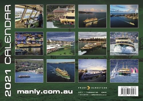 Calendar 2021 Manly Ferry