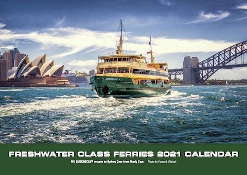 Sydney Harbour Ferry 2021 Calendar