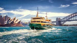 Sydney Circular Quay The Queenscliff Ferry