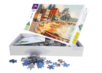 jigsaw puzzle of Manly Beach Australia